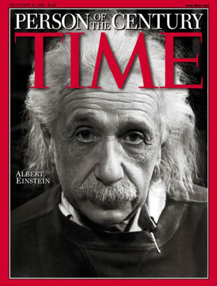 """Albert Einstein's reach extended far beyond science. In December 1999, Time magazine proclaimed him the """"Person of the Century."""""""