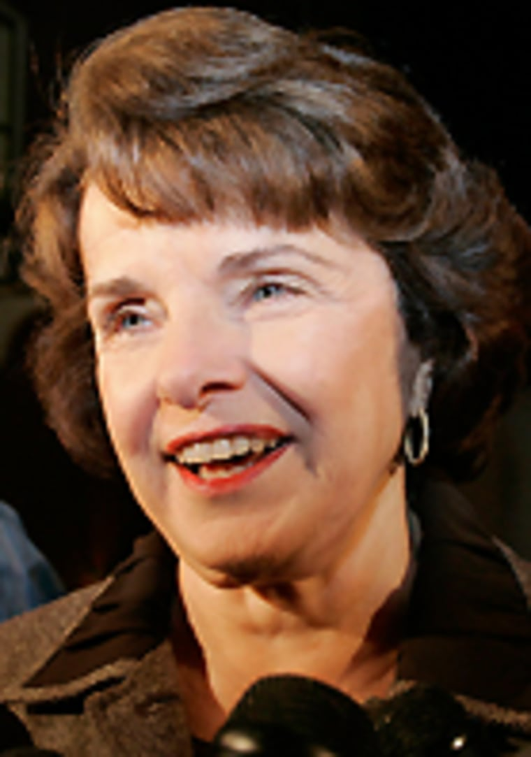 Dianne Feinstein, Richard Blum