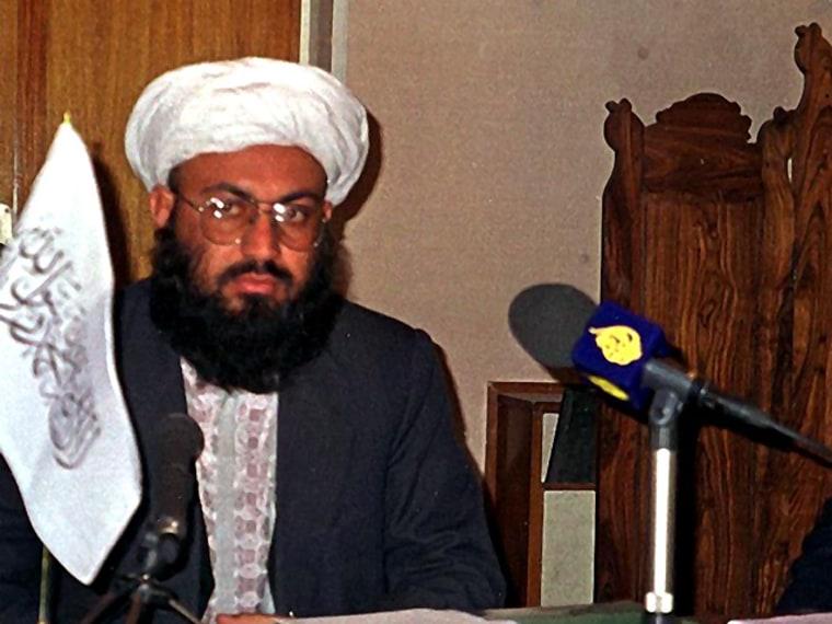 Afghan Taliban Foreign Minister Wakil Ahmad Mutawa