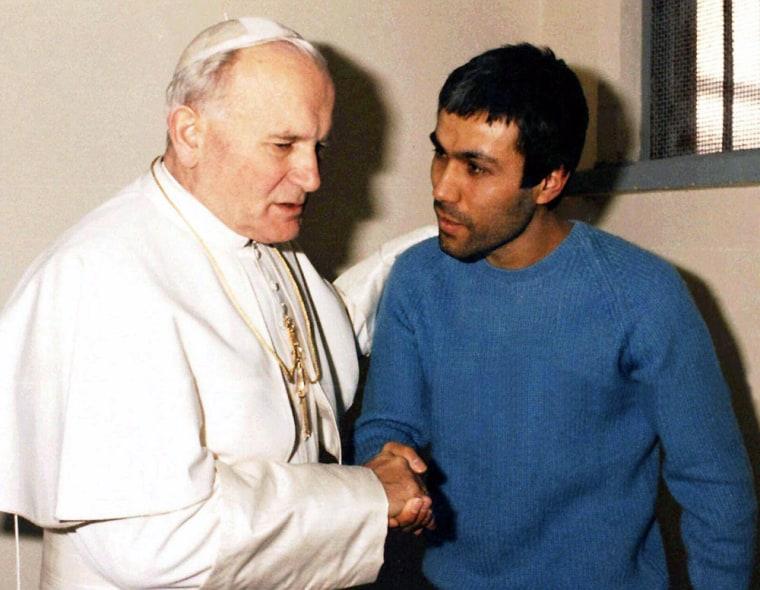 POPE JOHN PAUL II  AGCA