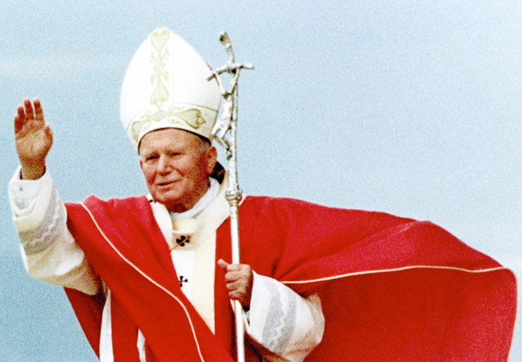 Jon Paul II visit in Poland in1997