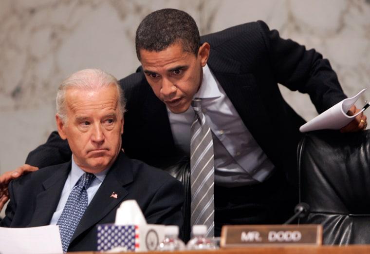 Joseph Biden, Barack Obama