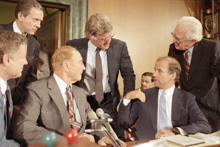 Strom Thurmond; Ted Kennedy; Jos