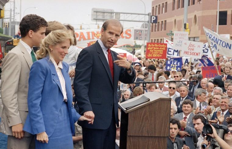 Joe Biden, Jill Biden, candidacy for president