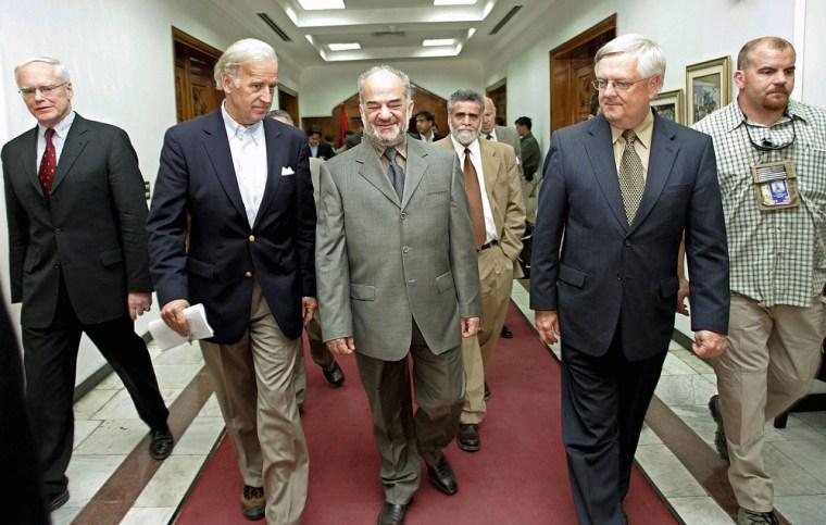 Iraqi PM al-Jaafari Meets With US Congressional Delegation