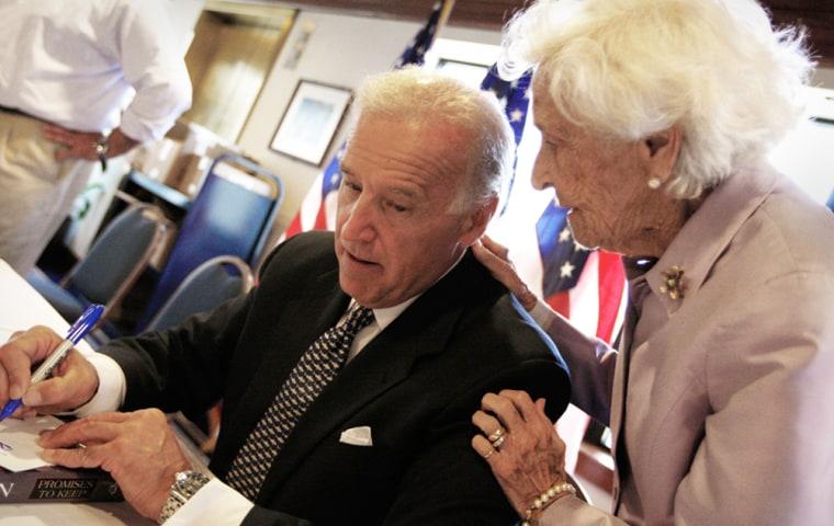 Joe Biden, Catherine Eugenia Finnegan Biden