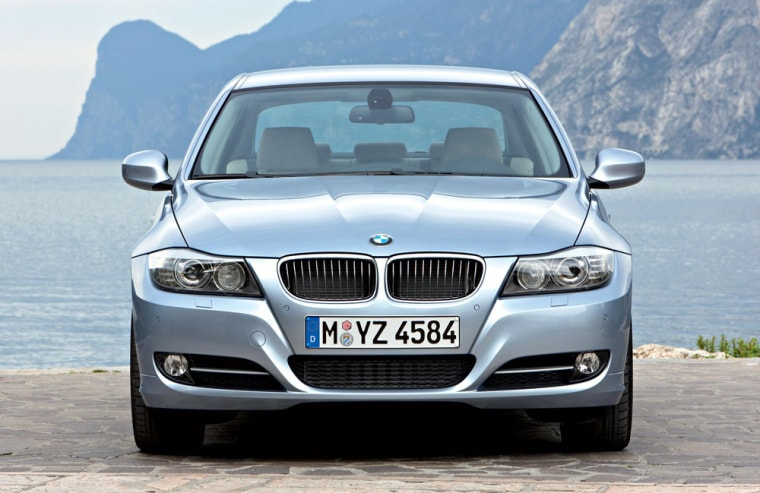 The BMW 3-Series sedan performs well in all NHTSA and IIHS crash tests.