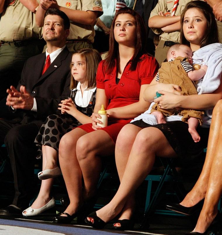 Bristol Palin, Trig Palin, Willow Palin, Piper Palin, Todd Palin