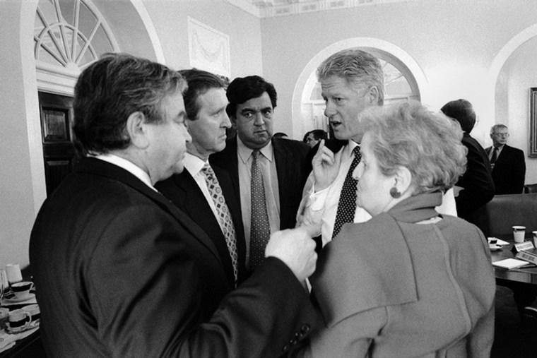 William S. Cohen;Bill Richardson;Sandy Berger;William J. Clinton;Madeleine K. Albright