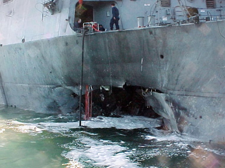USS Cole Attack Suspect Arrested