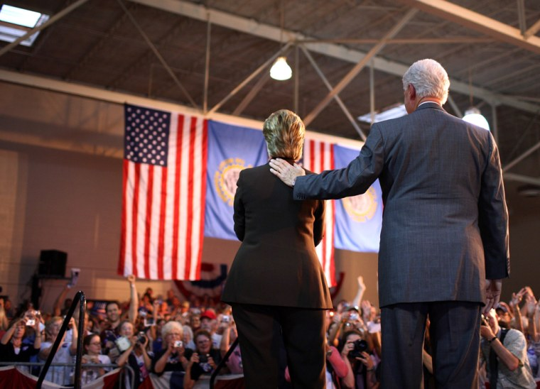 Hillary Clinton Campaigns Ahead Of Last U.S. Primaries
