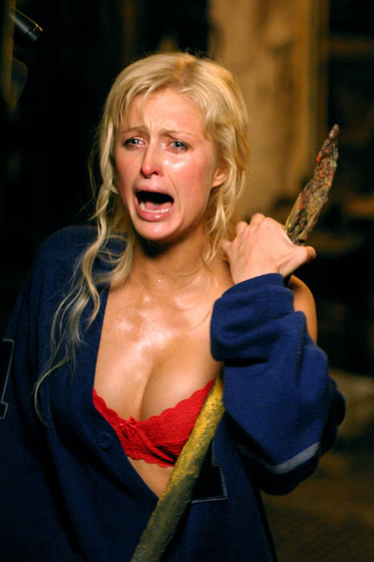 Paris Hilton in Warner Bros. Pictures' House of Wax - 2005