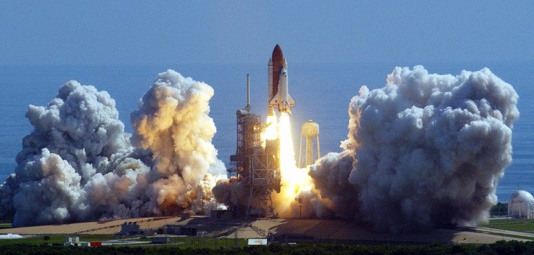 space shuttle discovery launch 2005 - photo #13