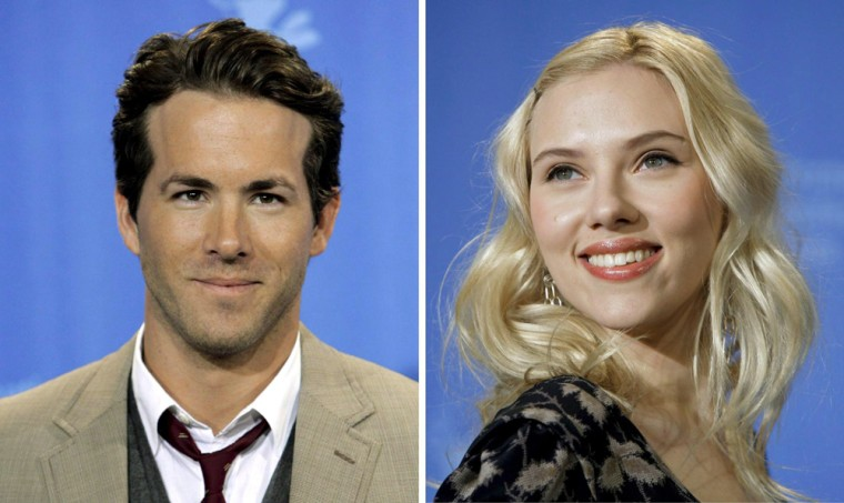 Scarlett Johansson and Ryan Reynolds marry in Canada