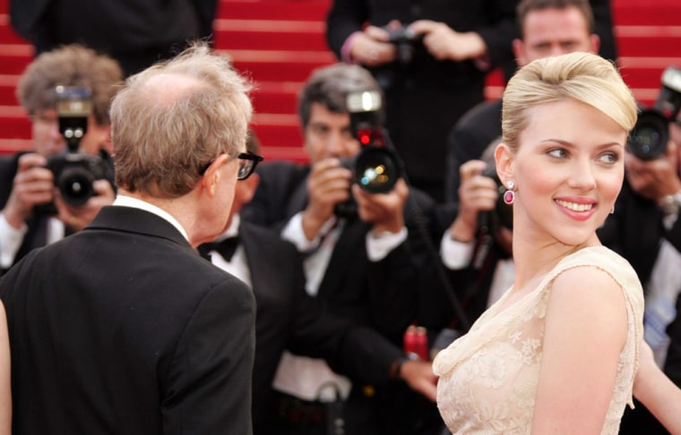 """CANNES: """"Match Point"""" screening"""