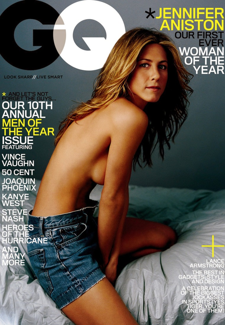 Actress Jennifer Aniston named first ever GQ magazine Woman of the Year