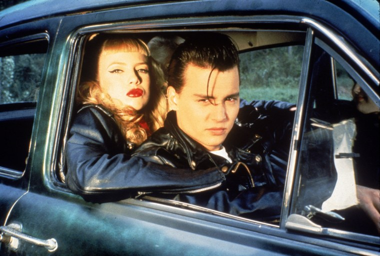 """Cry-Baby (1990) """"Cry-Baby,"""" starring a young Johnny Depp, shares aspects of its plot with """"Grease."""" Allison is a """"square""""..."""
