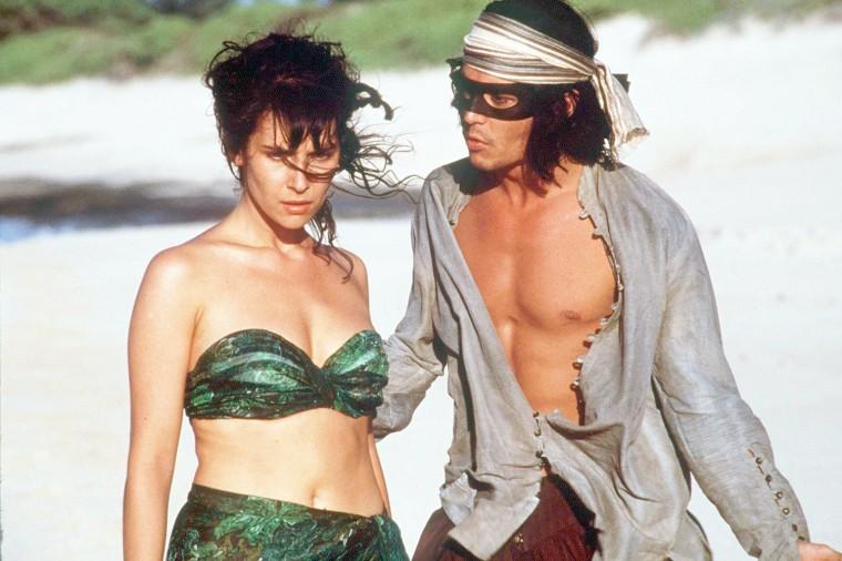 Dona Ana(Geralddine Pailhas And Don Juan (Johnny Depp In New Line Cinema's Don Juan Demarco