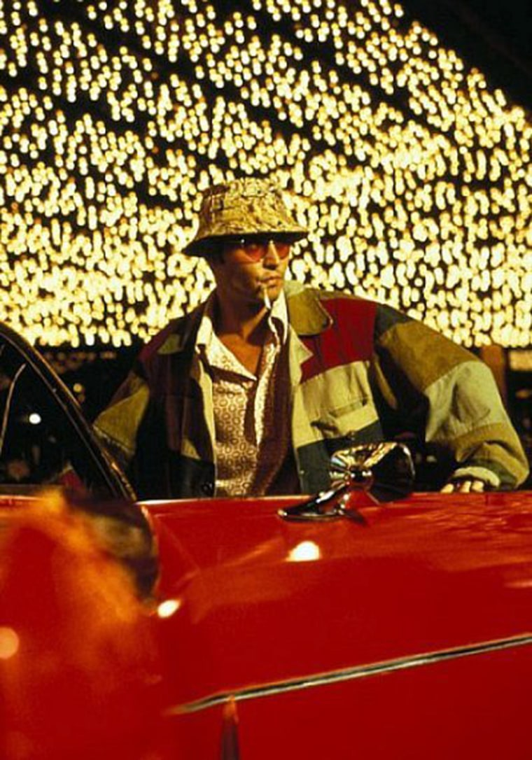Fear and Loathing in Las Vegas (1998) An oddball journalist and his psychopathic lawyer travel to Las Vegas for a series of psychadelic escapades.