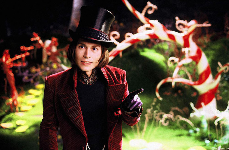 Charlie and the Chocolate Factory (2005) A young boy wins a tour through the most magnificent chocolate factory in the world, led by the world's most unusual candy maker.
