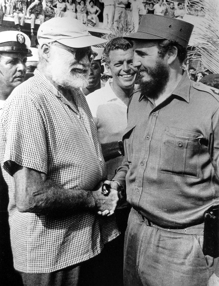 1959 Fidel and Ernest Hemingway, Habvna(Alberto Korda)IMG_0046.