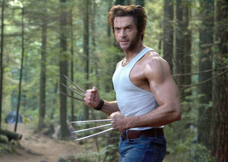 X-Men: The Last Stand (2006)  Wolverine (Hugh Jackman) prepares to unleash his berserker rage