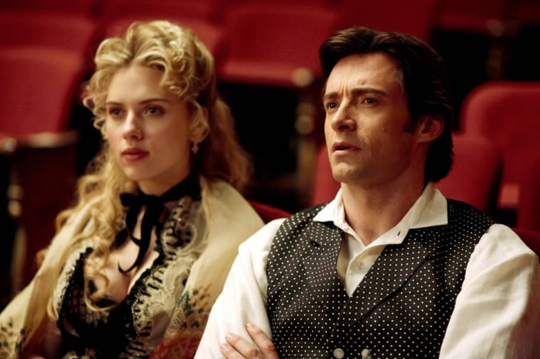 The Prestige -  In 1878 two young stage magicians clash in a darkened saloon during the course of a fraudulent séance. From this moment on, their lives become webs of deceit and exposure, secrets and revelations, as they feud to outwit and destroy one another. Their rivalry takes them both to the peak of their careers, but with terrible consequences.