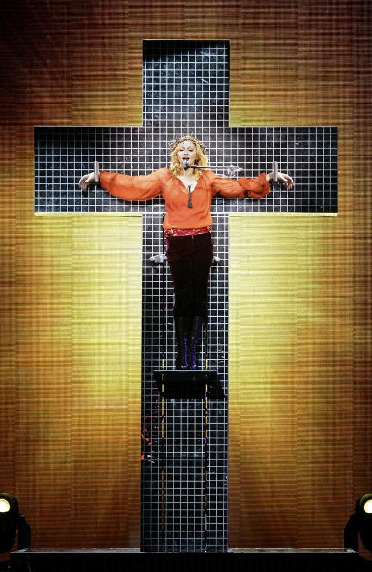 Madonna Plays Wembley Arena