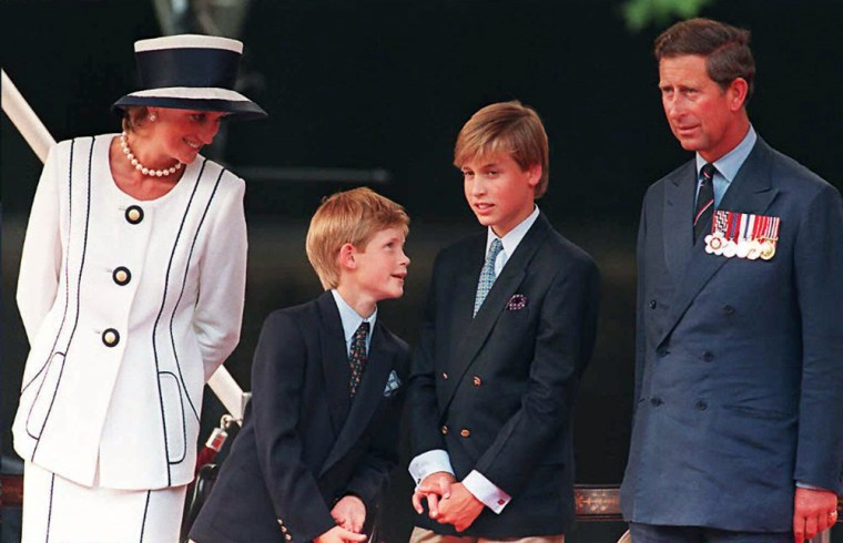 BRITAIN-ROYALS-DIANA-10YEARS