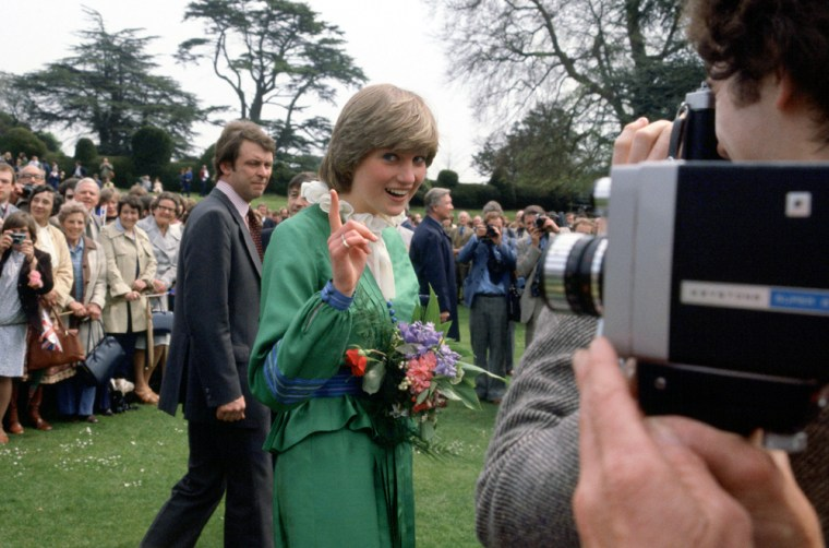 Diana And Photographers