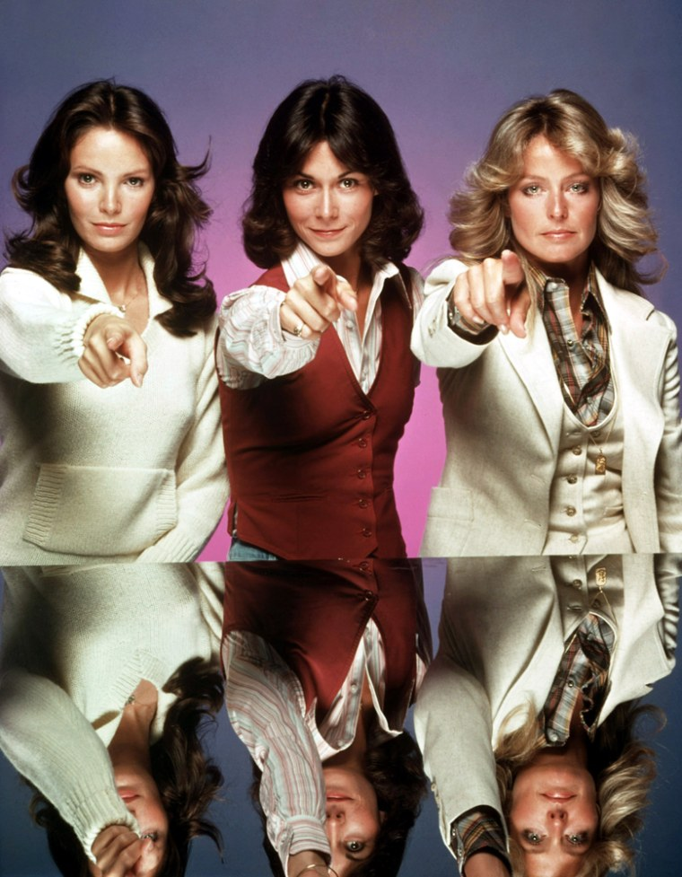 CHARLIE'S ANGELS, Jaclyn Smith, Kate Jackson, Farrah Fawcett, 1976-1981