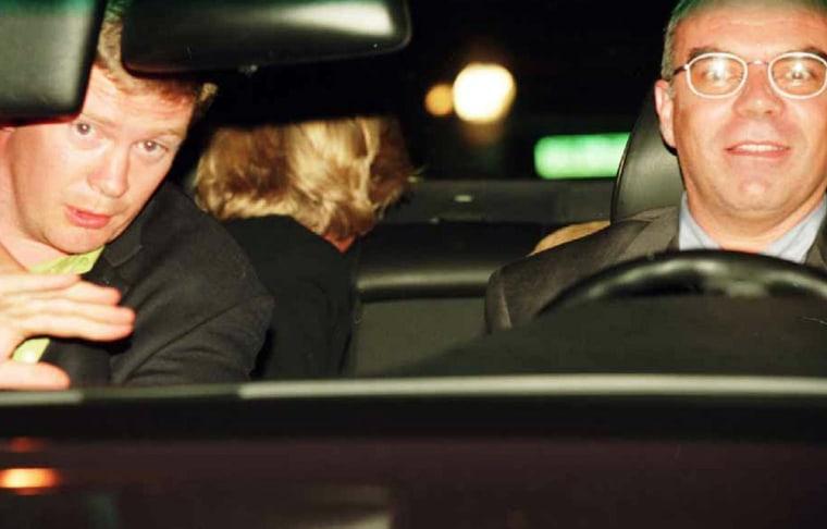Diana, Trevor Rees-Jones, Henri Paul