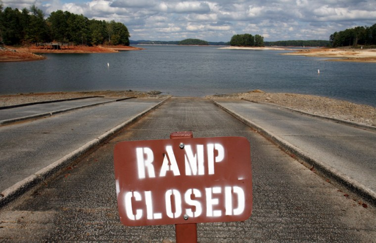 Atlanta Water Supply Declines Due To Drought