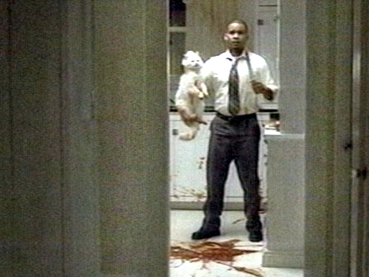 Ameriquest, a first-time Super Bowl advertiser, featured several spots about misinterpreted actions, including this horror movie spoof.