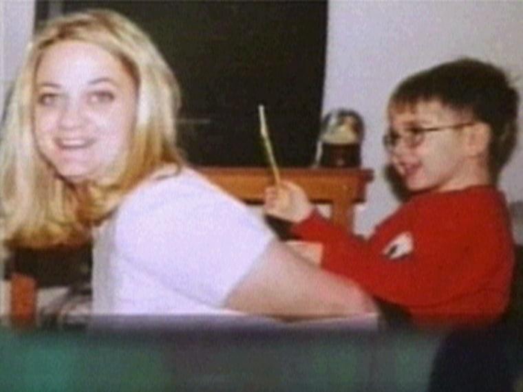Lisa Underwood and her son, Jayden.