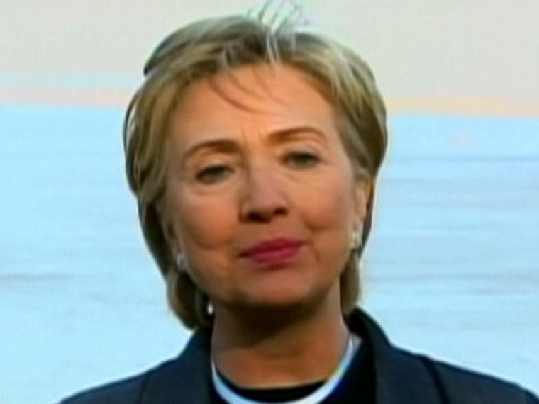 Presidential hopeful, Sen. Hillary Rodham Clinton, D-N.Y., says more responsible fiscal practices could bolster Social Security without hurting middle-class families.