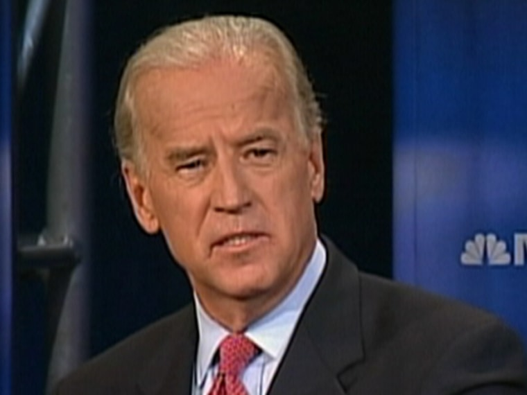 Presidential hopeful Sen. Joe Biden, D-Del. has a health care plan he says expands access but doesn't mandate universal coverage.