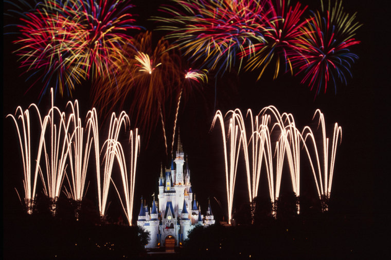 "This year marks the introduction of a brand new 13-minute show at Disney's Magic Kingdom: ""Disney's Celebrate America!—A Fourth of July Concert in the Sky."""