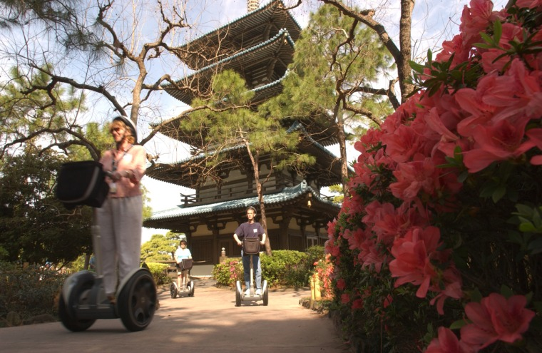 "When Walt Disney World's Epcot Center started offering its ""Around the World on a Segway"" tour, they figured it was a fun little novelty that would appeal to a small fringe of Segway buffs and quirk seekers. Little did they know that it would become one of the park's most popular attractions."
