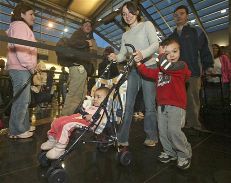 Airports throughout the world are installing play areas and other facilities for children to keep them interested and occupied, lessening the chances that kids will wander off and become separated from their parents.