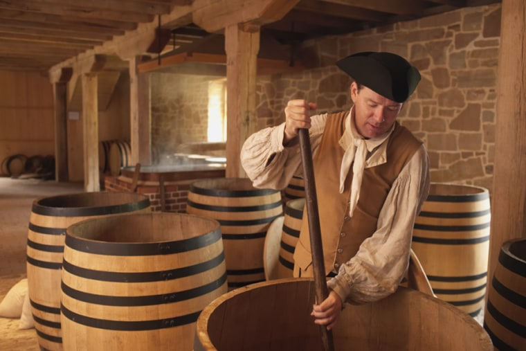 Whiskey's rich history stretches back to the Colonial era, a lesson you'll learn by traveling the American Whiskey Trail. Its gateway is in historic Mount Vernon, Va., home of the recently reconstructed George Washington Distillery.