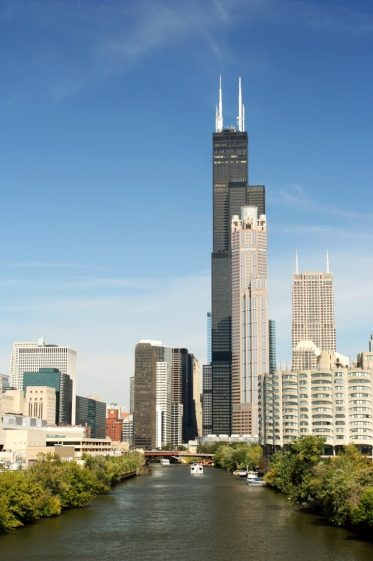 Think of it as the world's tallest recycling effort. Or maybe it's just an exceptionally ambitious retrofit. In any case, Chicago's record-breaking Sears Tower, completed in 1973—it reigned as the world's tallest until the Petronas Towers in Kuala Lumpur topped it in 1998—is about to become more energy-efficient.