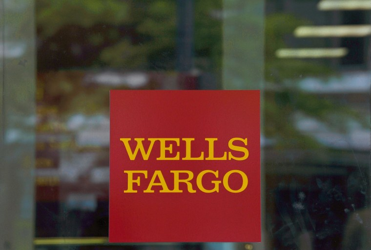 A Wells Fargo bank branch in is seen in this  April 13, 2012, file photo in Washington, D.C.