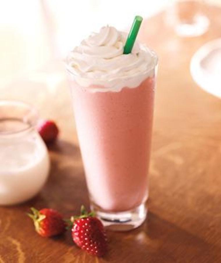 Starbucks Strawberries & Crème Frappuccino