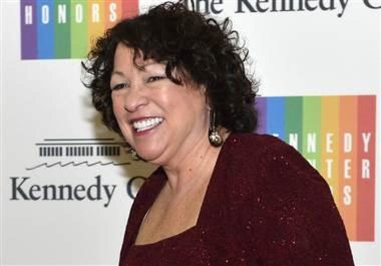 IMAGE: Supreme Court Justice Sonia Sotomayor