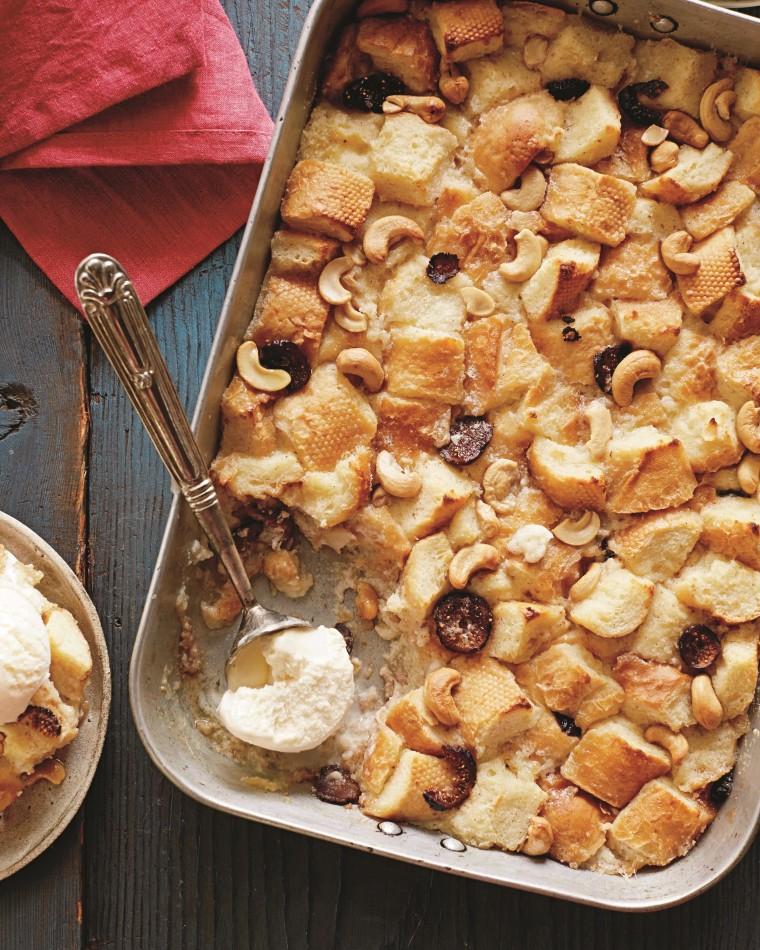 Aarti Sequeira's Huggy Buggy Bread Pudding.