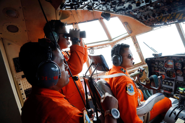 Image: Crew of Indonesian Air Force C-130
