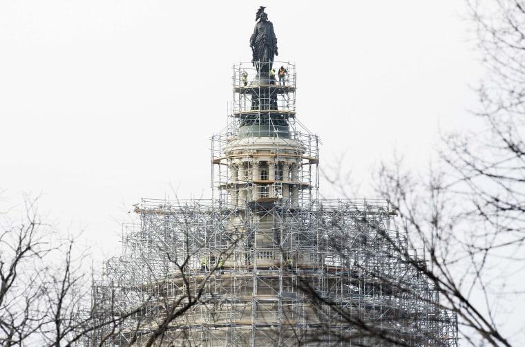 Image: US-POLITICS-CAPITOL-DOME