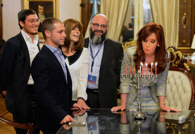 Image: Argentina President Cristina Fernández de Kirchner