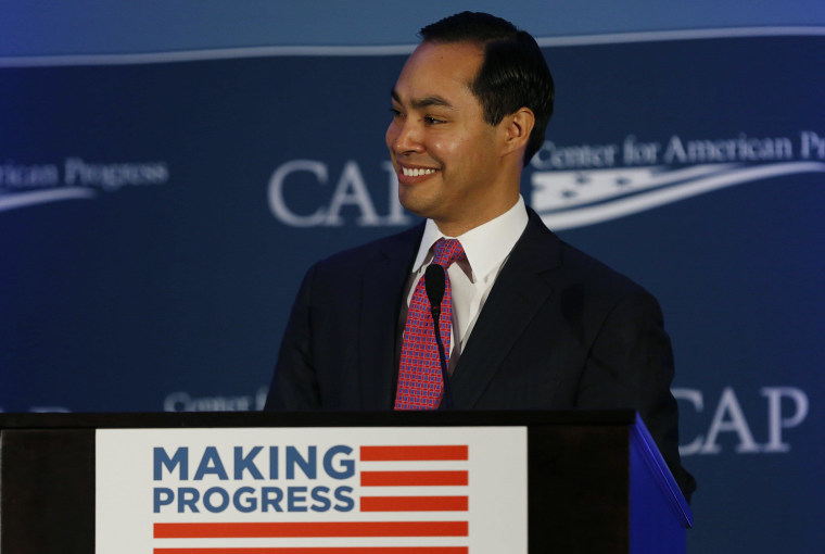 Image: HUD Secretary Castro speaks at the Center for American Progress' 2014 Policy Conference  in Washington